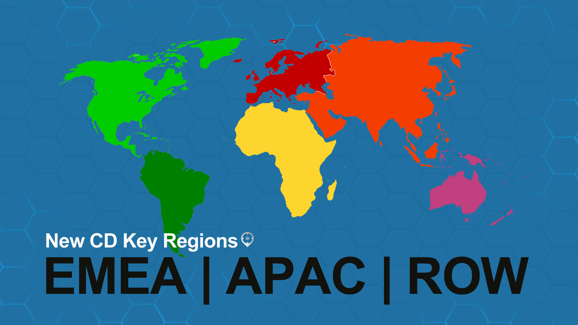 EMEA, APAC, and RoW Are Our New CD Key Regions Cover