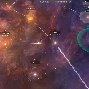 Outer Space Game Environment