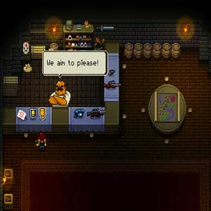 Enter the Gungeon Firearms store