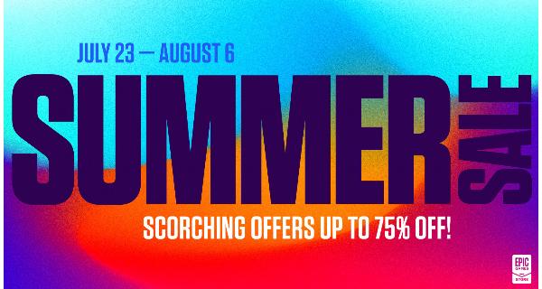 Epic Games Summer Sale 2020