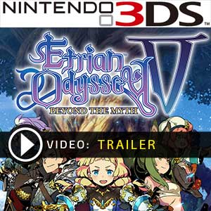 Etrian Odyssey 5 Beyond The Myth Nintendo 3DS Prices Digital or Box Edition
