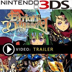 Etrian Odyssey Nexus Nintendo 3DS Prices Digital or Box Edition