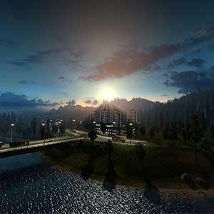 Euro Truck Simulator 2 Sunset