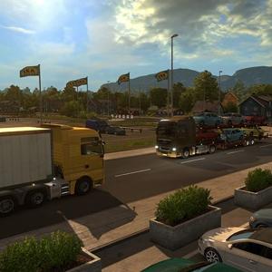 Euro Truck Simulator 2 Scandinavia DLC - Truck Stop