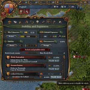 Europa Universalis IV Stability and Expansion