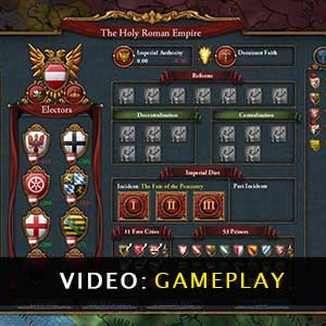 Europa Universalis 4 Emperor Gameplay Video