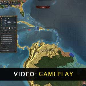 Europa Universalis 4 Leviathan Gameplay Video