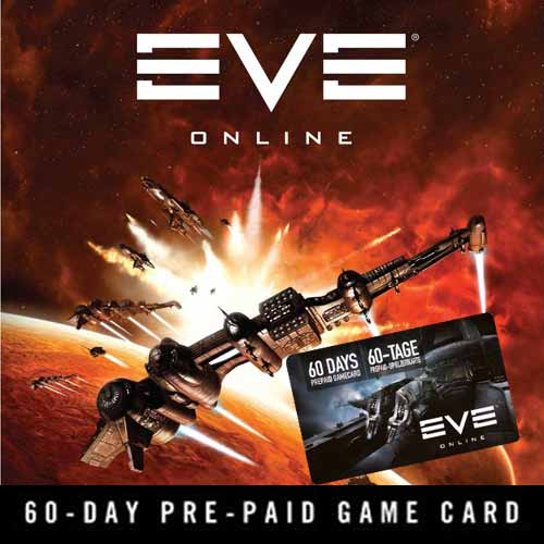 Compare and Buy Gamecard Eve Online 60 Days Prepaid Time Card