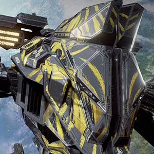 EVE Valkyrie Yellow Heavy