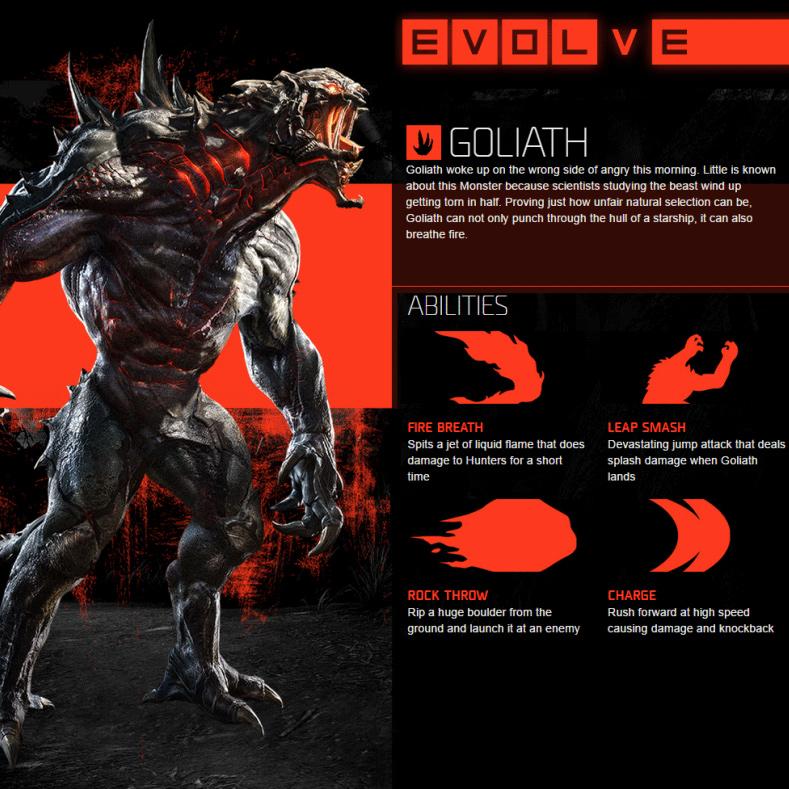 Goliath Abilities