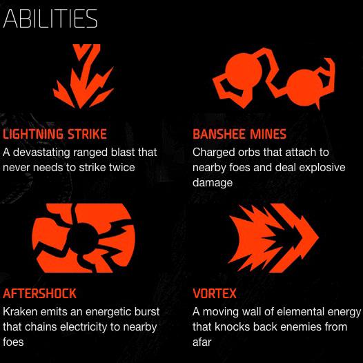 Kraken Abilities