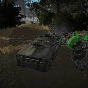 Combat truck to kills monster