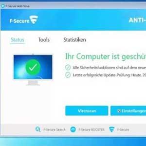 F-Secure AntiVirus - Status