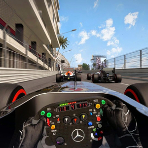 F1 2015 PS4 Race Interface