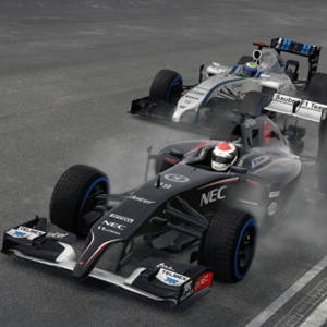 F1 2015 PS4 Racing against UK