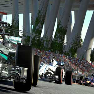 Challenging route in Formula One