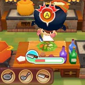 Fantasy Life Nintendo 3DS Kitchen