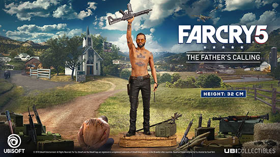 Far Cry 5 Cult Leader Is Made Into A Collector S Figurine