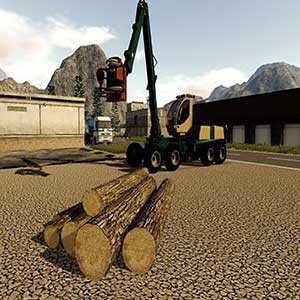 Farming 2017 The Simulation Wood Cutting Vehicle