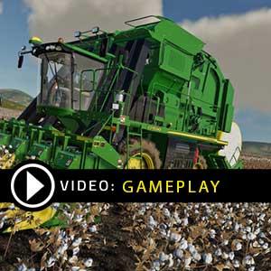 Farming Simulator 19 John Deere Cotton Gameplay Video
