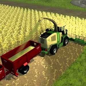 Farming Simulator 2013 Harvesting