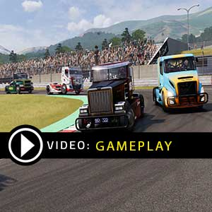 FIA European Truck Racing Championship Gameplay Video