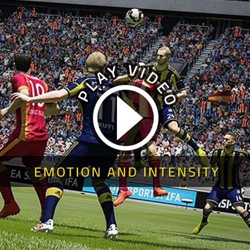 FIFA 15 PS4 Emotion and Intensity