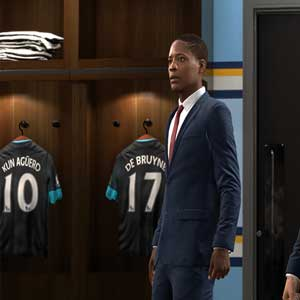 FIFA Players locker room