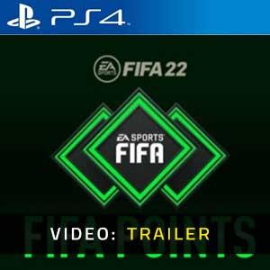 FIFA 22 FUT Points PS4 Video Trailer