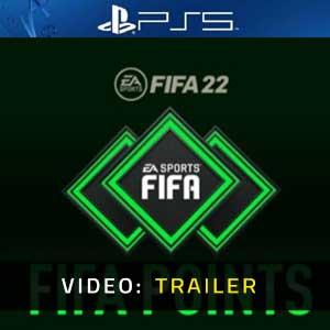 FIFA 22 FUT Points PS5 Video Trailer