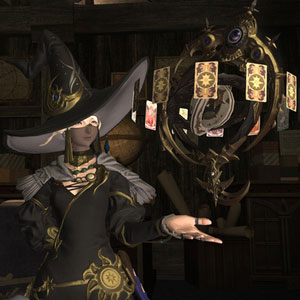 Final Fantasy 14 Heavensward PS4 Character Magic