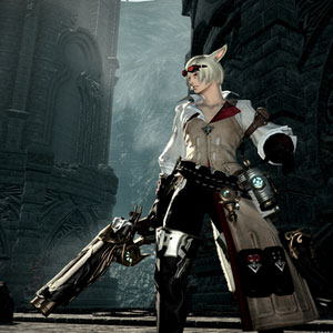 Final Fantasy 14 Heavensward PS4 Character and Environment