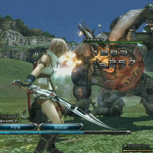 Final Fantasy 13 Battle