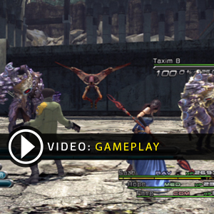 Final Fantasy 13 Gameplay Video