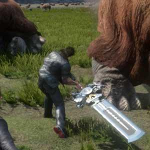 Fantasy 15 PS4 Hostile wildlife