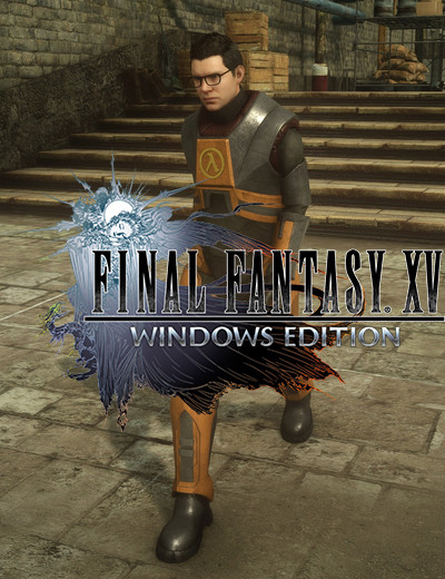 Dress Up as Gordon Freeman with His Iconic Crowbar in Final Fantasy 15 Windows Edition
