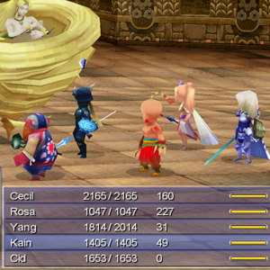 Final Fantasy 4 Battle
