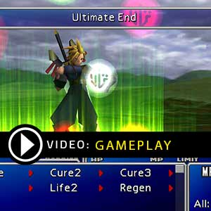 Final Fantasy 7 Gameplay Video
