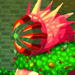 Plant monsters obstacle
