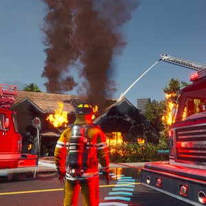 Firefighting Simulator The Squad Firefighter