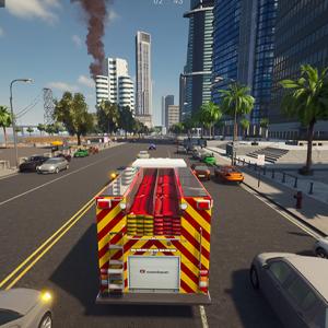 Firefighting Simulator The Squad Fire Truck