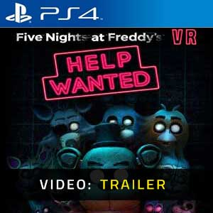 Five Nights at Freddy's VR Help Wanted PS4 Video Trailer