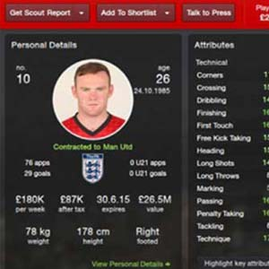 Football Manager 2014 - Player Profile