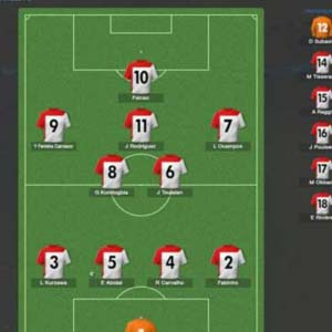 Football Manager 2014 - Lineup