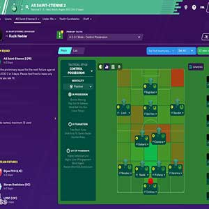 Football Manager 2020 Match Squad