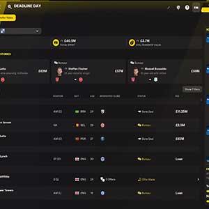 Football Manager 2022 Deadline Day