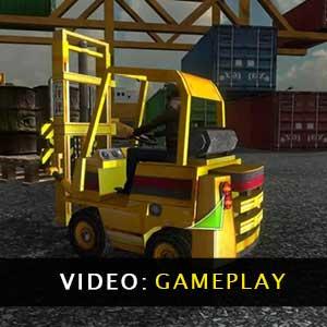 Forklift Simulator Gameplay Video