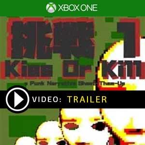 Gaijin Charenji 1 Kiss or Kill