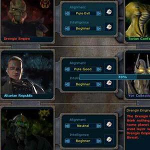 Galactic Civilizations 1 - Setup