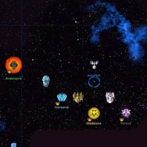 Galactic Civilizations 1 - Player HUD